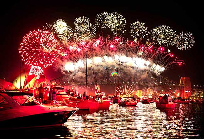 New Year's Eve Cruises Sydney