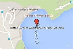 Clifton Gardens Wharf, Chowder Bay