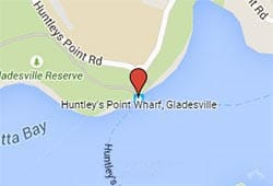Huntley's Point Ferry Wharf, Gladesville