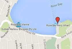 Rose Bay Wharf Floating Pontoon