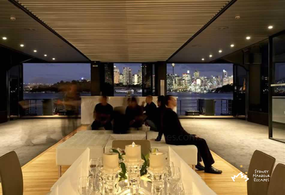 Starship sydney boat photo gallery sydney harbour escapes for Interior designs sydney