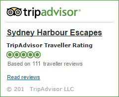 Trip Advisor Reviews Sydney Harbour Escapes