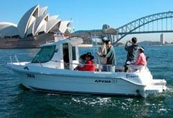 Self Drive Boat Hire Sydney