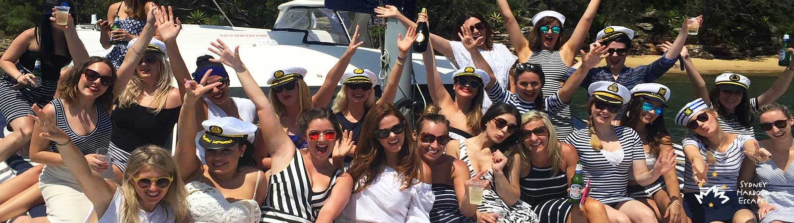 Ideas for Hens Party Cruises Banner