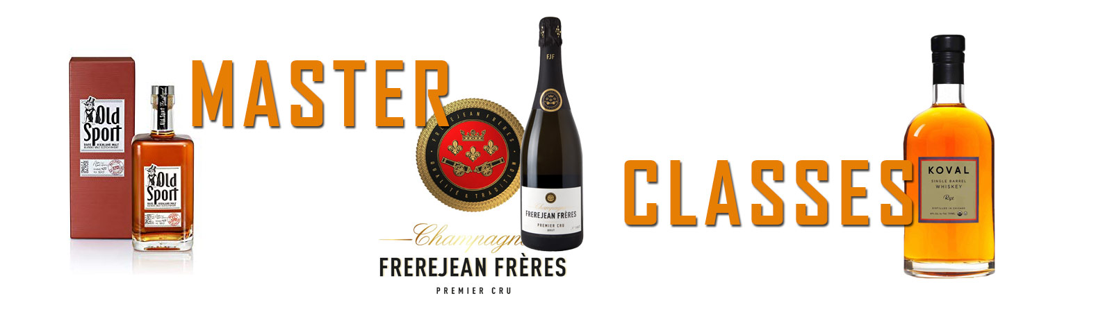 Masterclass Wine, Beer and Spirits Banner