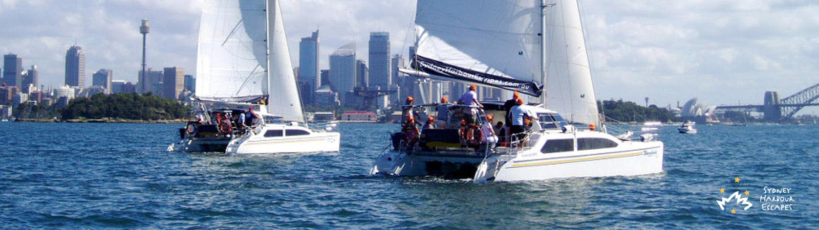 Corporate Sailing Regattas and Hands on Sailing Banner