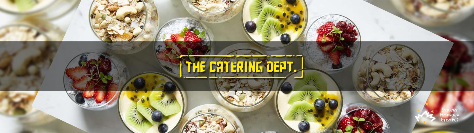 The Catering Department - Recommended Caterer Banner