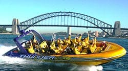 Jet Ride Past the Opera House and Harbour Bridge