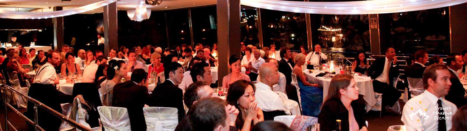 Wedding Cruises on Sydney Harbour