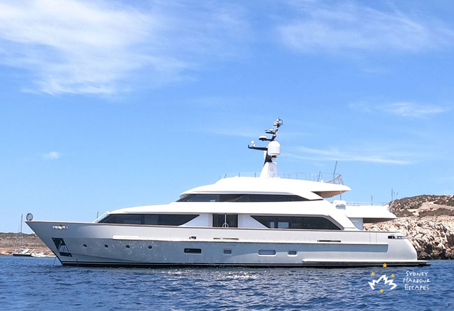 Au 112' San Lorenzo Superyacht Luxury Corporate Charter
