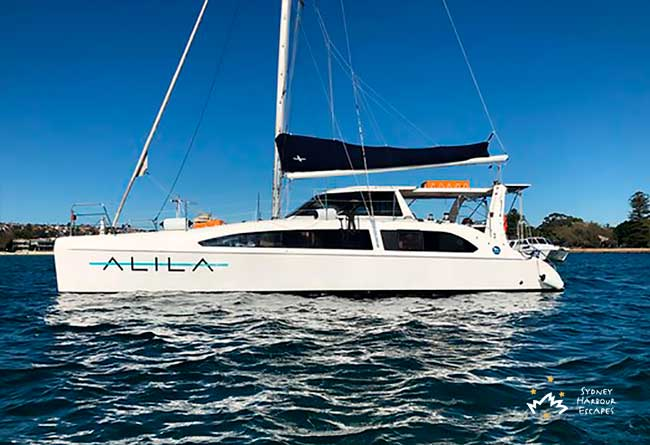 ALILA 38' Seawind Sailing Catamaran Corporate Charter