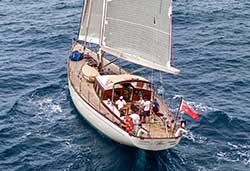 ATAO 82' Classic Sailing Yacht Private Charter