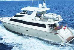 AUSPRO 90.5' Italian Designed Luxury Super Yacht for Wedding Charter