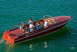 BEL 28' Italian Styled Private Water Limousine