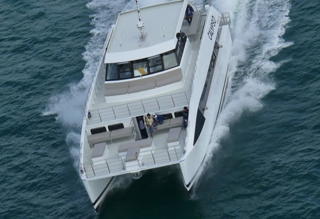 Bubbles 20m powered catamaran