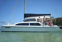 CABARET 38' Seawind 1000XL Sailing Catamaran Private Charter