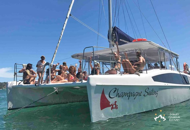 CHAMPAGNE SAILING Seawind 1160 Catamaran Corporate Charter