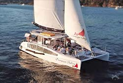 CHAMPAGNE SAILING Seawind 1160 Catamaran Private Charter