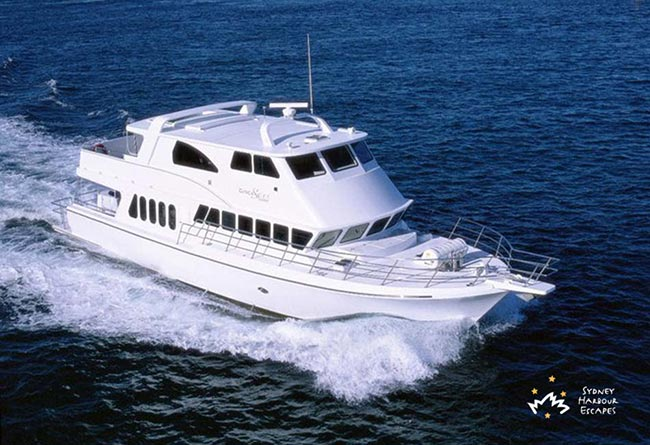 Circa Spirit 76' Power Vessel Corporate Charter