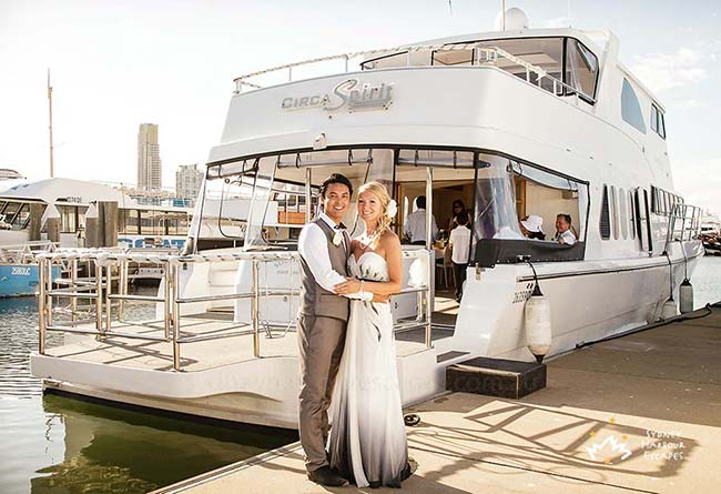 Circa Spirit Wedding Charter