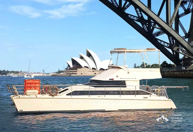 Cloud 9 - Cruising in front of the Sydney Opera House