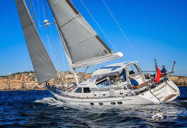 CONCERTO 72' Sailing Yacht Private Charter