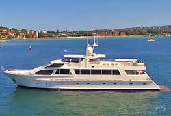 CORROBOREE 110' Lloyds Luxury New Years Eve Yacht
