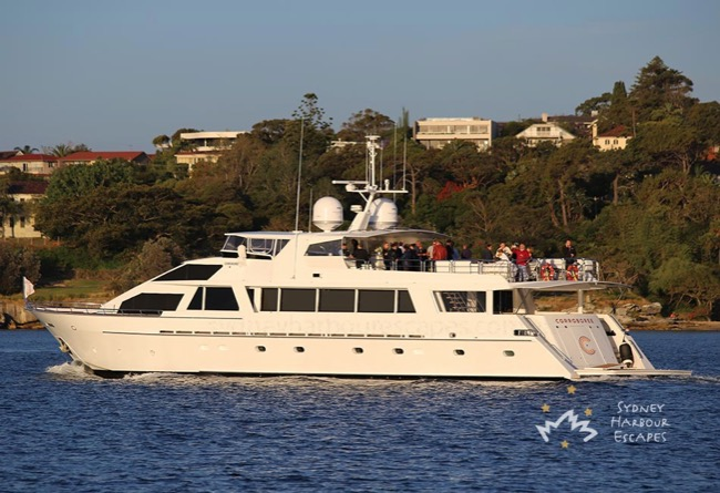 CORROBOREE 110' Lloyds Luxury Corporate Charter Yacht