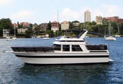 DAY BY DAY 47' Ranger Power Cruise Boxing Day Charters Sydney
