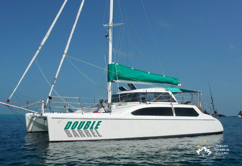 Double Barrel Catamaran