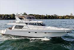 ENIGMA 64' Pama Flybridge Cruiser Boxing Day Charter