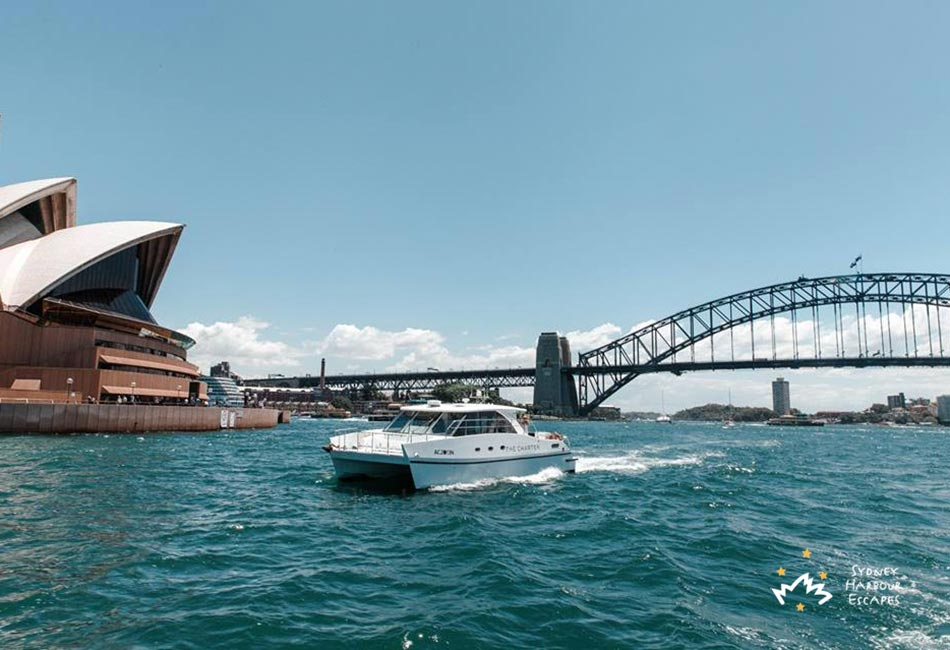 Entourage Cruising Sydney Harbour