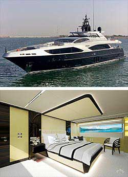 GHOST 2 122' Majesty Super Yacht Overnight Charter