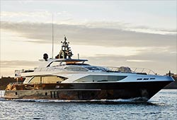 GHOST 2 122' Majesty Super Yacht Australia Day Charter