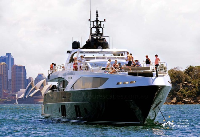 GHOST 2 Ghost 2 Boat Hire - Luxury Yacht Charter - Sydney Harbour Escapes