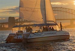 HARBOUR CAT 41' Alumarine Sailing Catamaran Private Charter