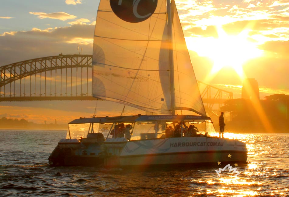 HARBOUR CAT 41' Alumarine Sailing Catamaran Australia Day Charter