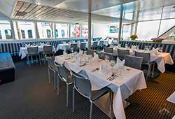 Harbour Spirit cruise dining