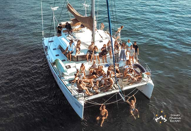 HESTIA 45' Beneteau Catamaran New Year's Eve Tickets