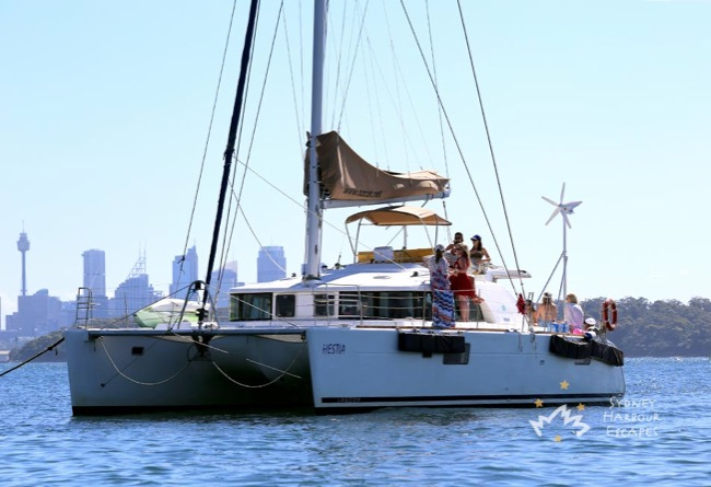 HESTIA 45' Beneteau Sailing Catamaran Corporate Charter