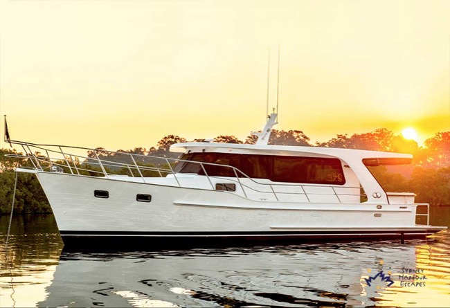 ILUKA 48' Integrity Motor Yacht Corporate Entertainment Sydney