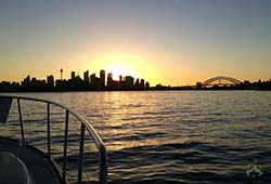 Iluka Sunset Sydney Harbour