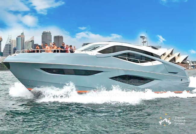 IMPULSE 60' Numarine Hard Top Private Charter