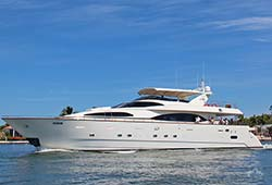 LADY PAMELA 100' Azimut Luxury Super Yacht Charter