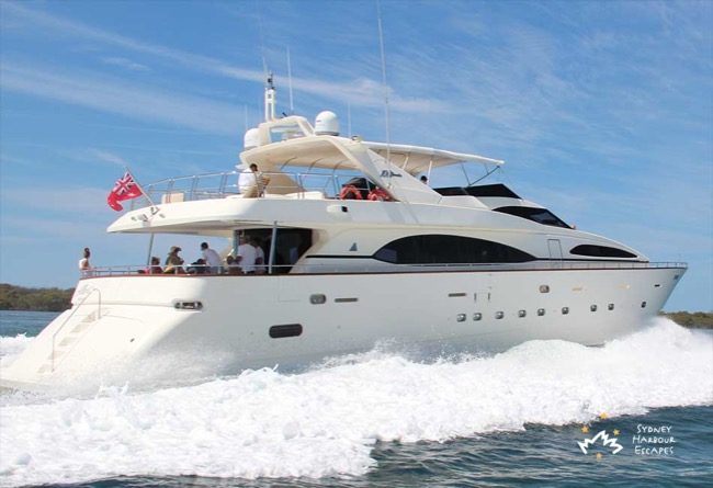LADY PAMELA 100' Azimut Luxury Yacht Corporate Charter