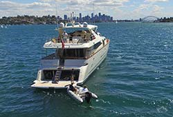 Lady Pamela on Sydney Harbour