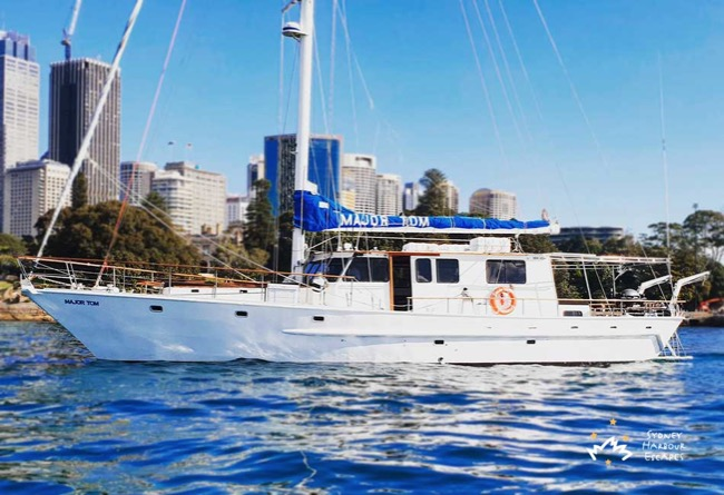 MAJOR TOM 62' Sailing Yacht Australia Day Charter
