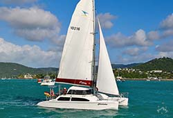 MINTAKA 38' Seawind 1000XL Sailing Catamaran Private Charter