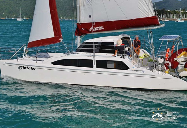 MINTAKA 34' Seawind 1000XL Sailing Catamaran Private Charter