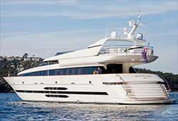 MOHASUWEI 108' Super Yacht Luxury Wedding Charter